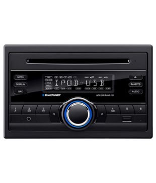 Blaupunkt - New Orleans 220 CD/MP3/USB Receiver With Front Aux (Double DIN)