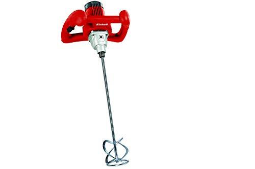 Einhell TC-MX 1400 E Miscelatore Elettrico, Rosso, Set di 2 Pezzi