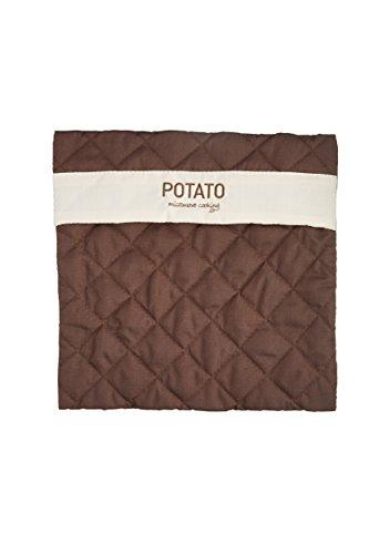 Kitchen Craft bolsa para patatas apta para microondas, marrón