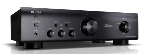 Denon PMA520AE Integrated Stereo Amplifier with built-in Phono Preamp, Headphone Out, Tone Controls - Black