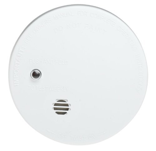 Kidde (Pack of 4) Battery-Operated UL-Listed Smoke Detector Alarm