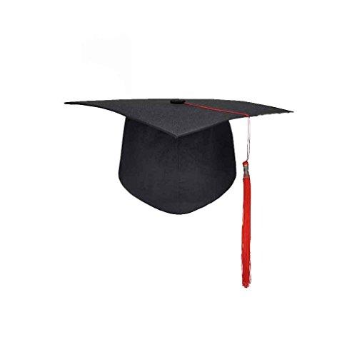 Forbestest Graduación de las borlas de la Universidad Cap Birrete Licenciatura Maestro Médico Académico Sombrero