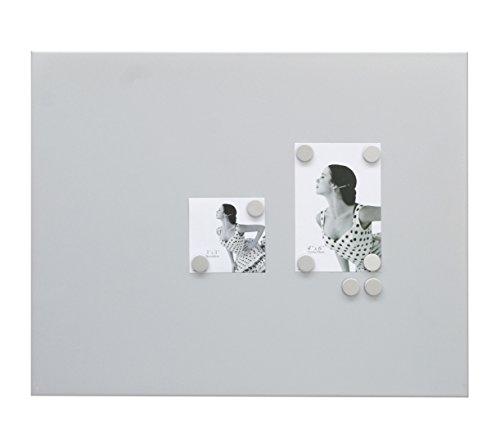 Deknudt Frames S58MN3 40 x 50 lavagna magnetica grigio argento metallo