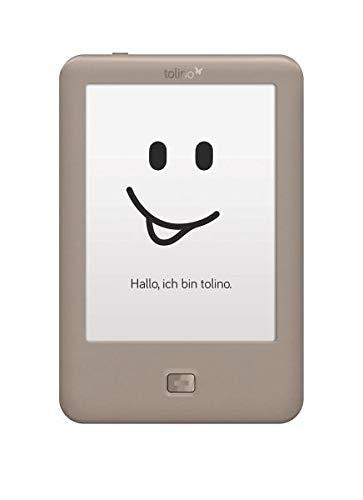 Tolino Page lectore de e-Book Pantalla táctil 4 GB WiFi Gris - E-Reader (15,2 cm (6'), E Ink Carta, 800 x 600 Pixeles, 4:3, EPUB DRM,PDF,TXT, 4 GB)