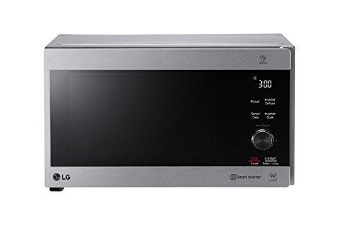 LG Kitchen MH7265CPS.BSSQEUS Forno Microonde Inverter, 1500 Watt, 32 Litri, Argento