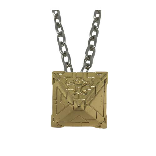 Fanattik Jewellery-Yu-Gi-Oh Limited Edition Necklace-Millennium Puzzle, B09E00702F