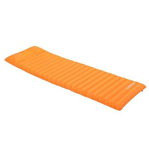 Naturehike Aufblasbare Airbed Matratze Zelt Air Mat Mit Kissen Camping Moisture-proof Pad Outdoor Schlafmatte (New Orange)