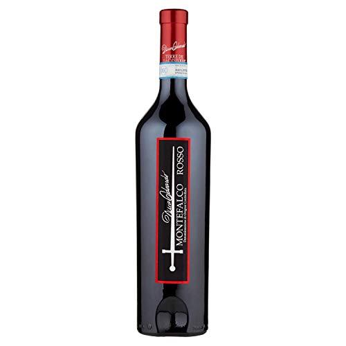 Bottiglia di vino rosso Montefalco duca edoardo D.O.C.