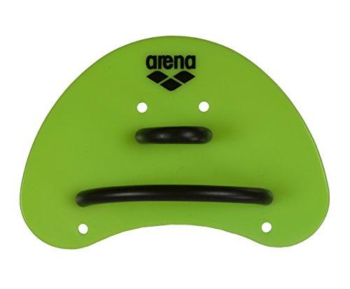 Arena Trainingsgerät Elite Finger Paddle - Palas de mano para natación, color verde (acid lime/black), talla única