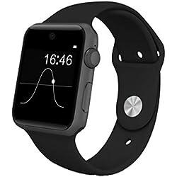 Inteligente Bluetooth Digital Al aire libre Reloj deportivo electrónico Pulsera multifunción Contador de pasos Calorías del podómetro Monitor de sueño Resistente al agua para hombres Mujeres Niños A