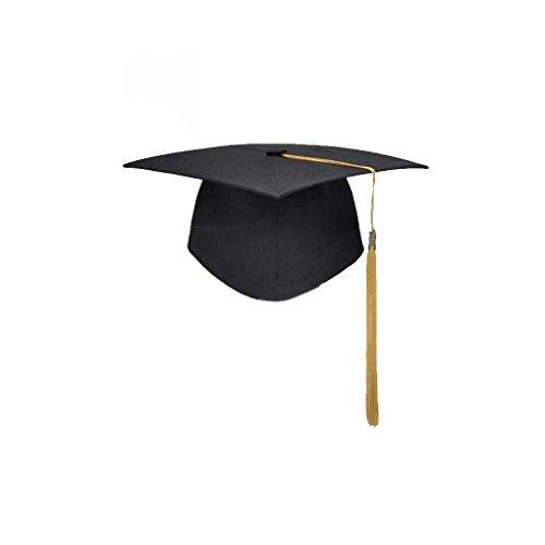 Yangge Yujum Graduación de Las borlas de la Universidad Cap Birrete Licenciatura Maestro Médico Académico Sombrero