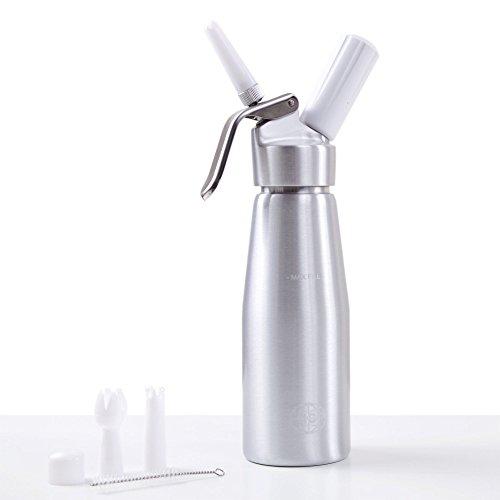 500ml Profi Sahnespender/Sahnesyphon für heiße und kalte Cremes und Soßen