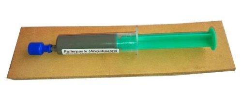 Messerabziehpasten-Set: 10ml POLIERPASTE + 20cm LEDERRIEMEN, von Scherenkauf®