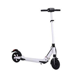 Scooter eléctrico Inteligente de 8,5 Pulgadas Scooter eléctrico 250W de Alta Potencia, Peso Ligero y Plegable, con…
