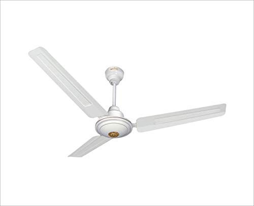 Activa Apsra 390 RPM High Speed 1200 MM Sweep BEE Approved 5 Star Ceiling Fan- White with 2 Year Warranty