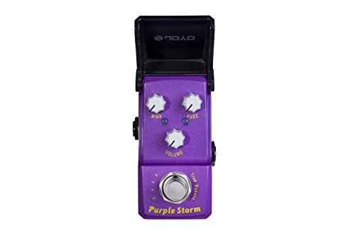 JOYO JF-320 Purple Storm Fuzz Ironman mini Guitar Effects Pedal