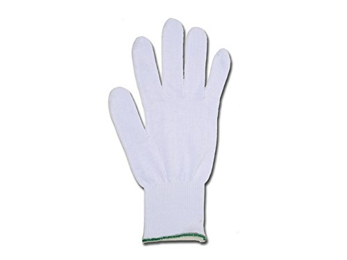 GIMA 25866 Guanti in Cotone, Bianco, 7.5, Confezione 10 Pezzi