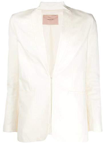 Luxury Fashion | Twin-Set Donna 201TP225200282 Bianco Blazer |