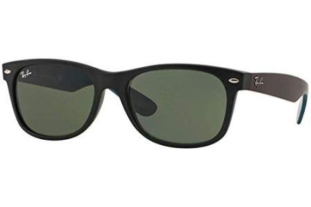 Ray-Ban-2132-Gafas-de-Sol-Unisex-Multicolor-Matte-Black-55-mm