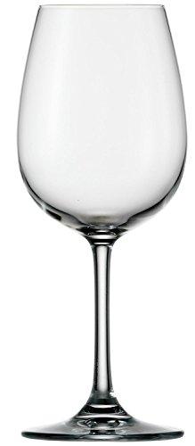 Bicchieri da vino bianco Stölzle Lausitz della serie Weinland 350ml, set da 6, calici da vino...