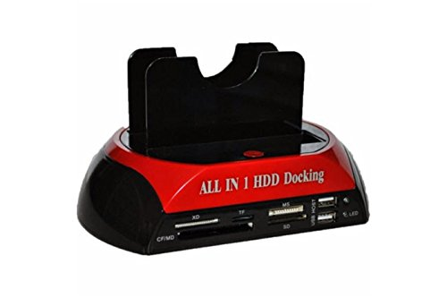 Docking Station Multifunzionale usb 2.0 HDD Hard Disk Supporta 2.5' , 3.5' IDE SATA WLX-875
