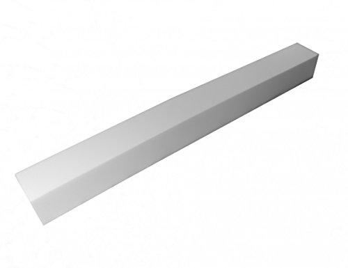 Prolunga per materasso in gommapiuma RG35, Espanso, senza rivestimento, 200x10x20cm