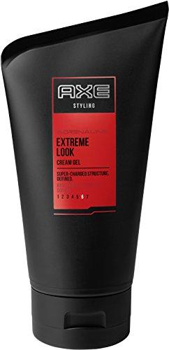 Axe Haarstyling Haargel für Männer Extreme Look Adrenaline, 3er Pack (3 x 125 ml)
