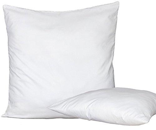 Bed Store Set 4 Pezzi Anima Imbottitura anallergica per Cuscini Divano, Poltrona, Letto da Rivestire in Quattro Misure (60 X 60)