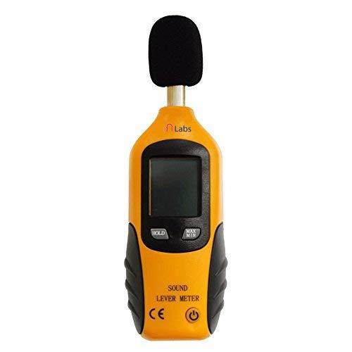 mlabs HT-80A LCD Digital Sound Level Meter Portable Noise Decibel Monitor Pressure Tester