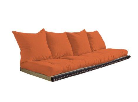 Vivere Zen - Divano Letto Futon - Kanto futon 80x200 + Tatami 90x200-2 Cuscini - Colore Classe 2 55x50 cm