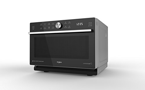 Whirlpool MWP 337 SB Forno a Microonde, Nero e Argento