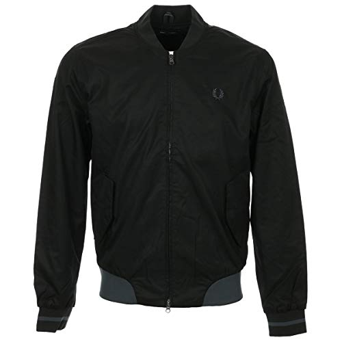 Fred Perry Twill Bomber Jacket, Giacca - M