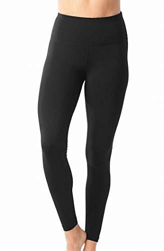 90 Degree By Reflex Leggings a vita alta Flex Flex - Tummy Control - Nero - Piccolo