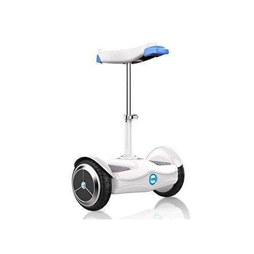 Airwheel S6, Hoverboard con Seduta Uomo, Bianco/Azzurro, 50.3 x 79 x 32.2 cm