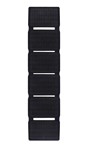 IFITech 40W Portable Dual Output 5V USB & 18V DC Waterproof Foldable Camping Travel Solar Panel Charger for Laptop, Tablet, GPS, iPhone, iPad, Camera, Android Cellphone Other 5-18V Device