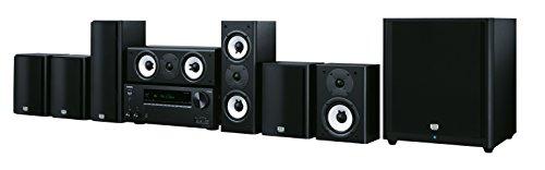 Onkyo HT-S9800THX(B) 7.1 Heimkinosystem mit AV Receiver und Lautsprecher (175 W/Kanal, Multiroom, THX Kinoklang, WLAN, Bluetooth, Streaming, Musik Apps, Spotify, Tidal, Deezer), Schwarz