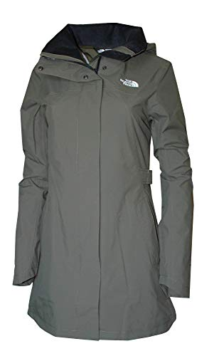 The North Face Women's Laney Trench II Jacket (New Taupe Green, L)