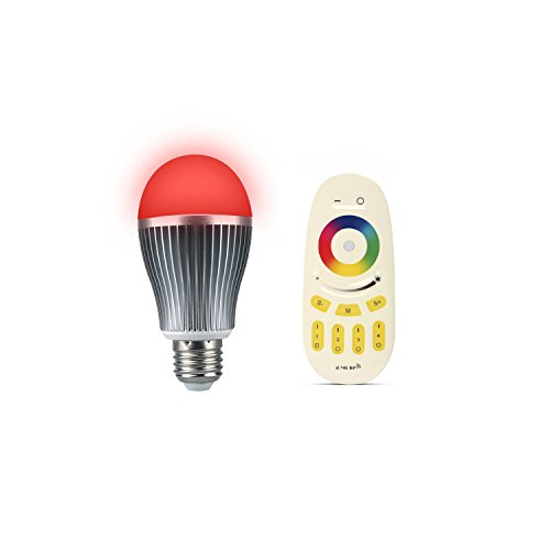 ENRG LED bulb PRISM-Wireless Remote controlled with 256 colours Set of 1 pc bulb and 1 remote - 2 Year Warranty