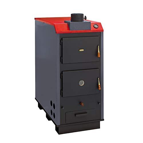 44kW solide Multi chaudière à combustible Prity LB L Gravure sur bois Granulés de bois/charbon/