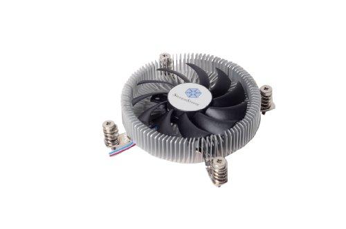 SilverStone SST-NT07-115X - Dissipatore Nitrogon per CPU, Low Profile, 80mm PWM, Intel