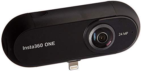 Insta360 ONE - Videocamera di Azione 360° con Risoluzione Video 4K, Stabilizzazione FlowState, Foto...