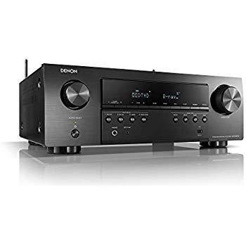 Denon AVR-X1600H 4K Ultra HD 175W 7.2 CH AV Receiver with Amazon Alexa Voice Control Compatibility