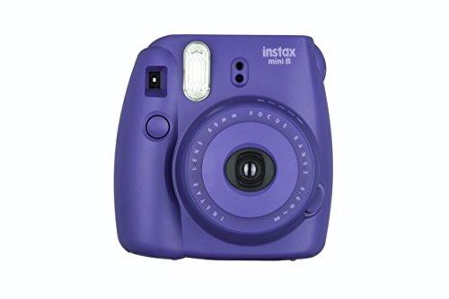 Fujifilm Instax Mini 8 - Cámara instantánea (flash, 1/60 sec), color violeta