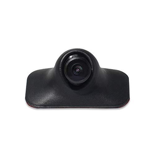 Parkvision - Telecamera laterale/fotocamera anteriore/posteriore, sensore CMOS universale HD per auto con funzione di capovolgere immagine senza distanza, nessuna perforazione