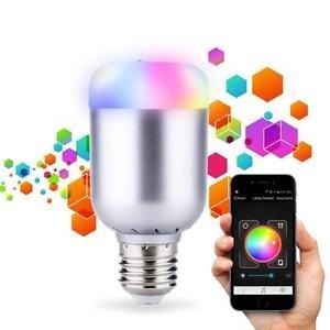 Wireless Bluetooth Control Music Audio Speaker LED RGB Smart Bulb Light Lamp