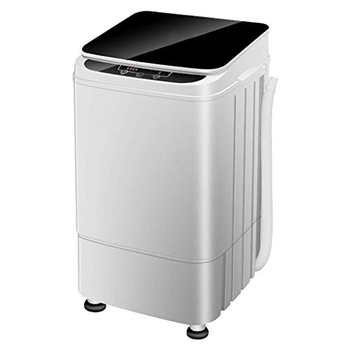 WJMLS Lavatrice Lavatrice e asciugatrice Portatile Lavatrice compatta con Pompa di Scarico della...