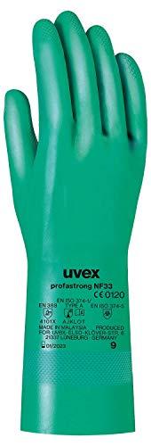 Uvex, guanti per prodotti chimici, in nitrile -Guanto di alta qualità protettivi contro gli...