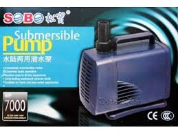Sobo Submersible 105W Pump Water Lift Home Fountain Pond Filter Head