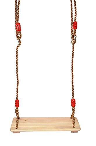 COMINGFIT® Swing Traditional Garden Toy per Divertimento, Seduta in Legno Da Carico Tree-Max 150 kg
