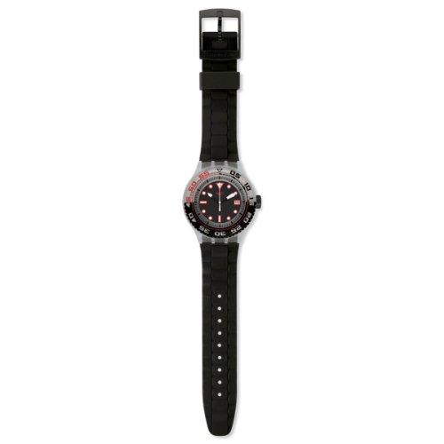 Swatch Orologio da Uomo Analogico al Quarzo con Cinturino in Silicone - SUUK400